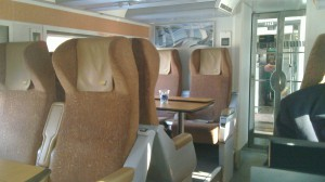 Via Business Class Tables