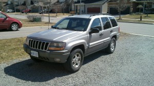 My New Jeep Grand Cherokee