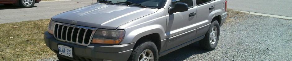 My New Jeep Grand Cherokee