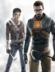 Alyx Vance and Gordon Freeman