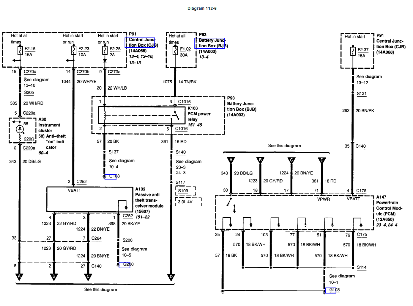 PATS Wiring Schematics - PowerStrokeNation : Ford Powerstroke Diesel Forum