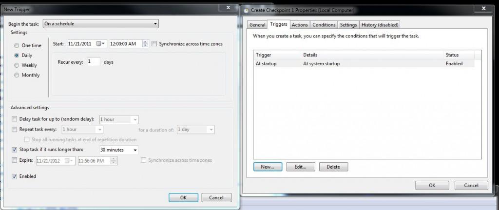 Create Backup Task: Step 3