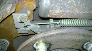 Ford Taurus Drum Brake Auto Adjust Mechanism