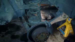 Jeep Rear Axle and Exhaust Geometry