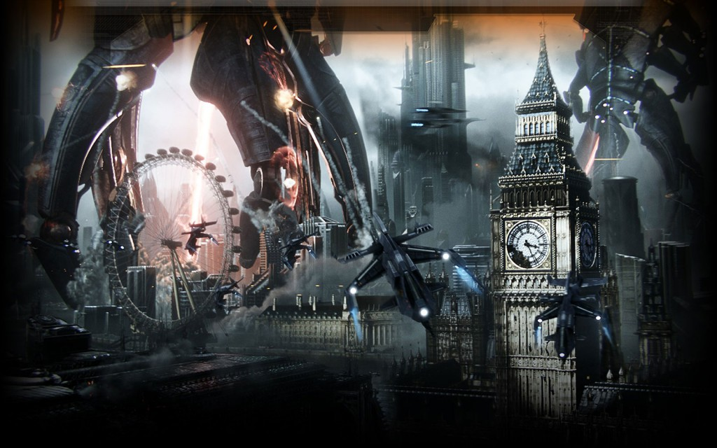 Mass Effect 3 London Destruction
