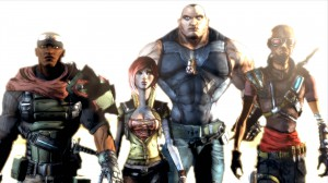 Borderlands 1 Player Characters