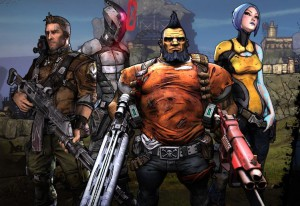 Borderlands 2 Player Characters