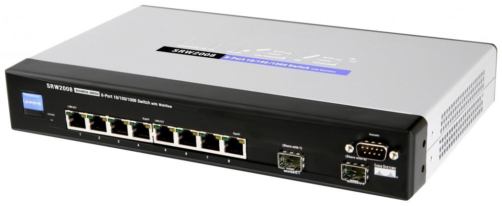 Linksys/Cisco SRW2008