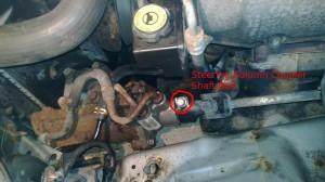 Steering Gear Coupling Bolt