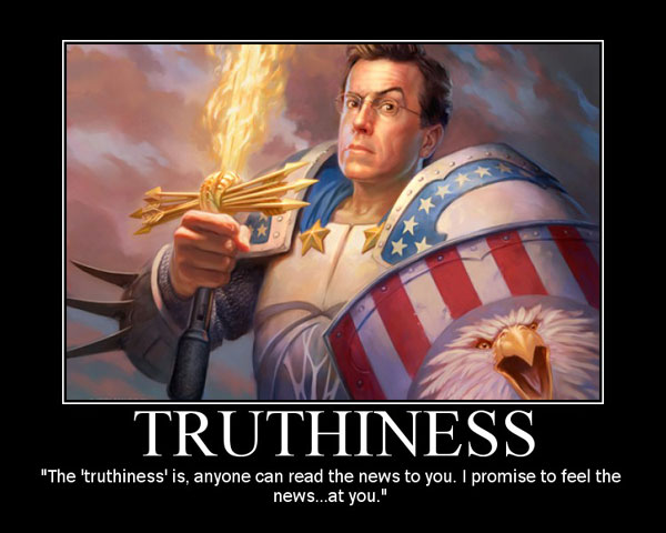 Truthiness feels good
