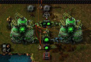 Factorio Nuclear Kovarex Setup