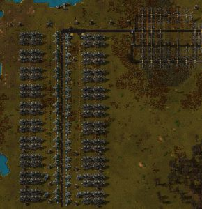 Factorio Max 2 Pump Steam Setup