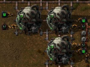 Factorio Nuclear Reactors