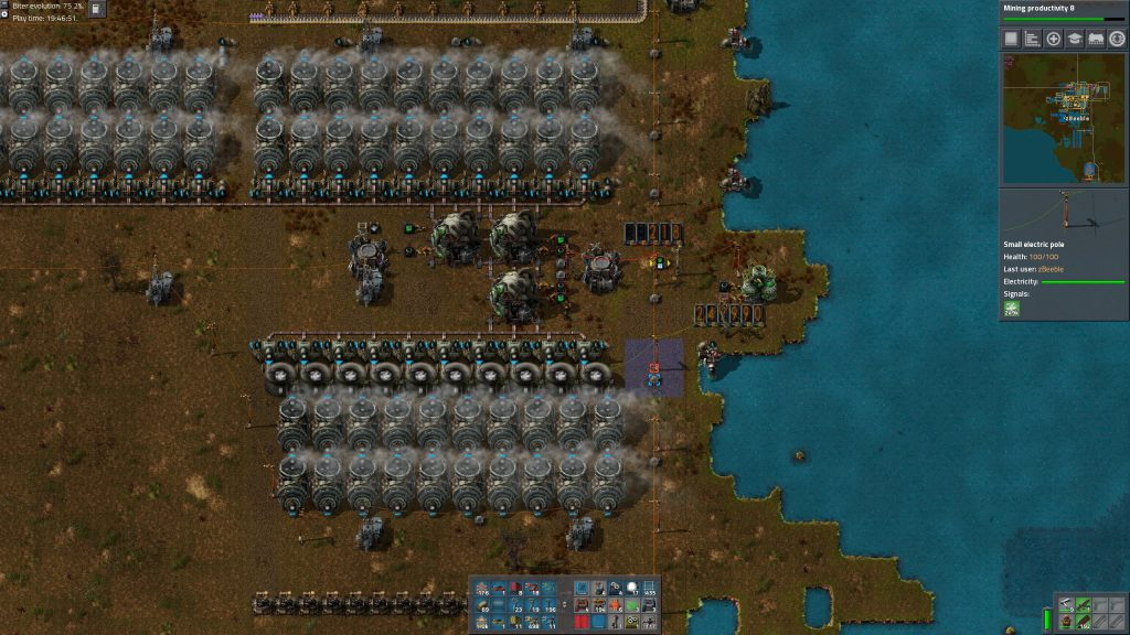 Factorio Nuclear Setup