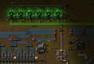 Factorio Uranium Mining Setup