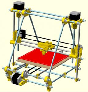 Prusa Mendel 3D Printer